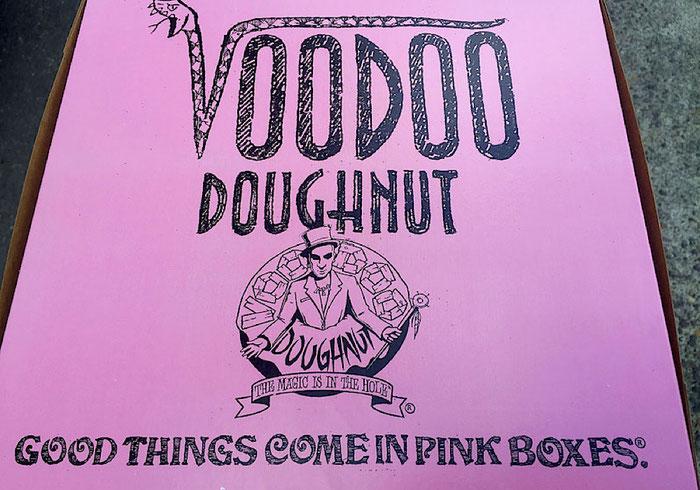 Voodoo Doughnut Portland Oregon