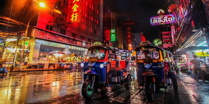 Getting Around in Thailand