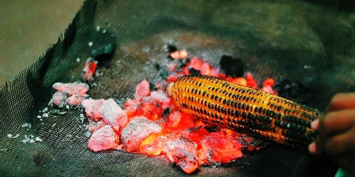 grilled corn tanzania africa