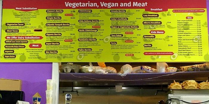 el nutri taco menu portland oregon