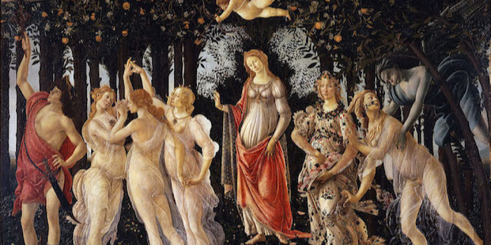 La Primavera by Botticelli
