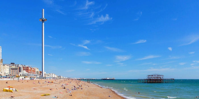 british airways i360 brighton beach
