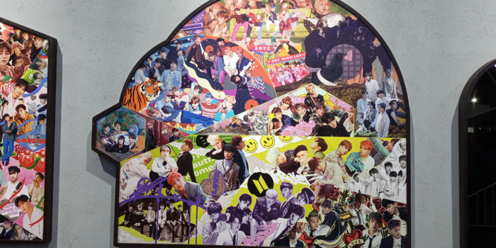 BTS collage