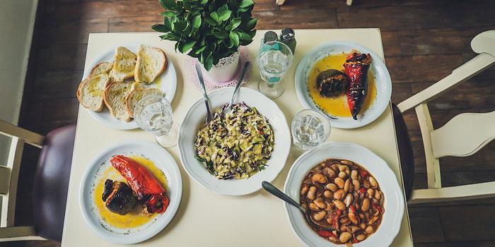 Greek vegan food