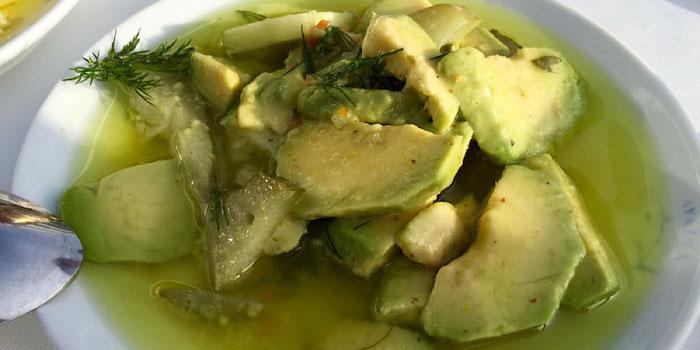 avocado salad mezze