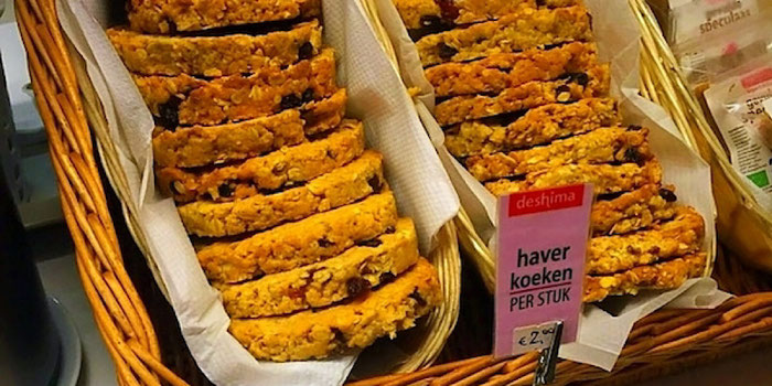 vegan cookies from deshima amsterdam