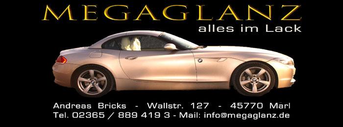 Andreas Bricks in Marl bei Recklinghausen erhält den Wert Ihres Fahrzeuges durch eine Lackpolitur mit Lackschutz bis zu 5 Jahre