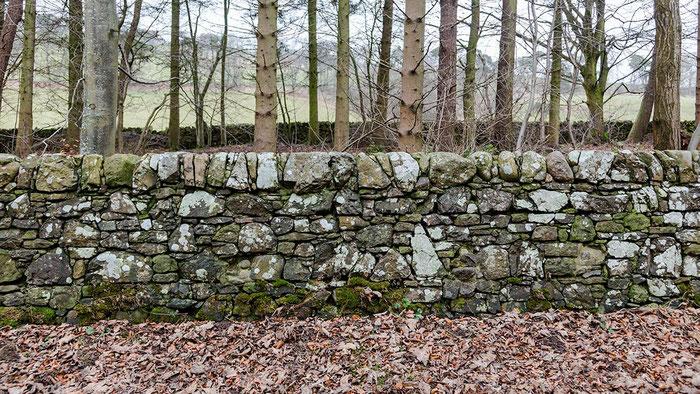 英国式石積みの施工例