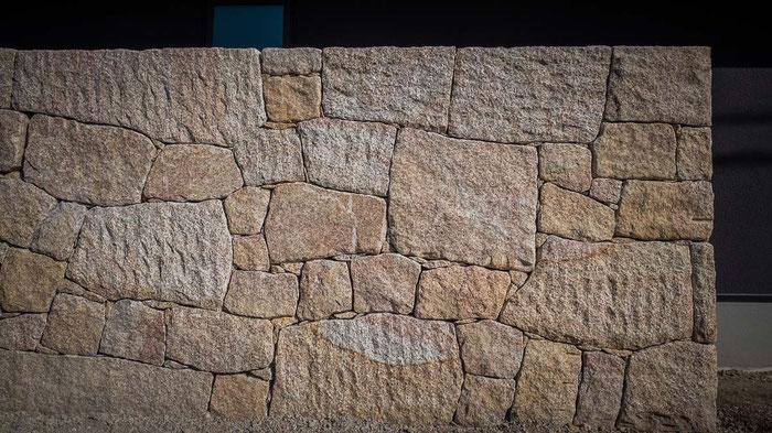 石積みの施工例です。