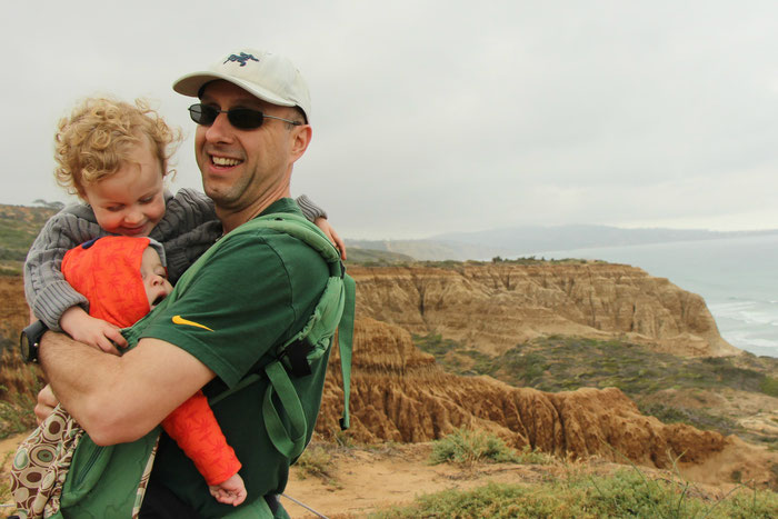 Hiking Torrey Pines - San Diego With a Baby