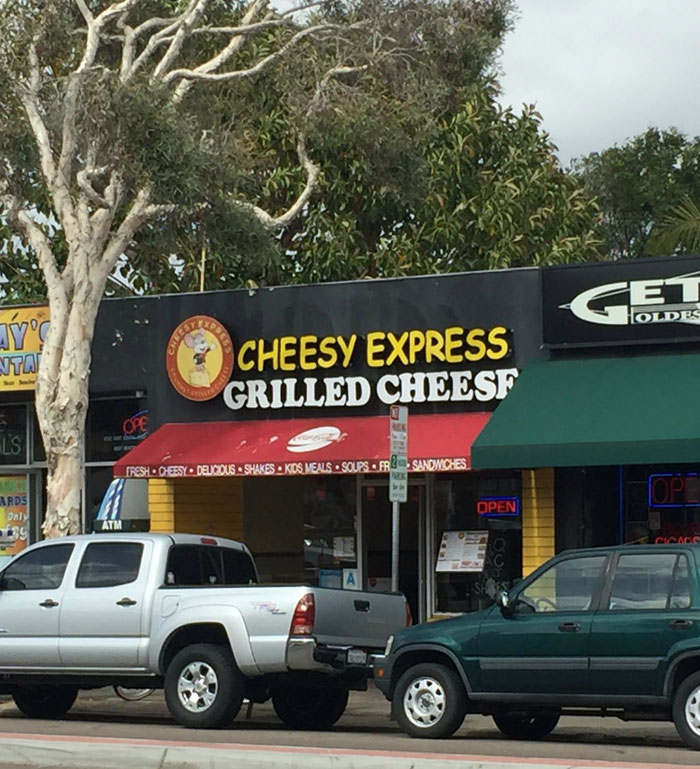 Cheesy Express Mission Beach San Diego