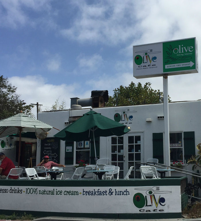 Olive Cafe Mission Beach San Diego