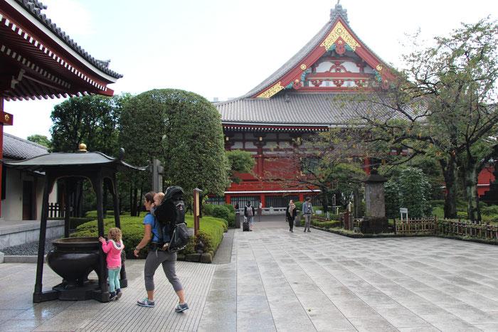 Senso-ji Temple Asaskusa Tokyo Japan Travel with baby