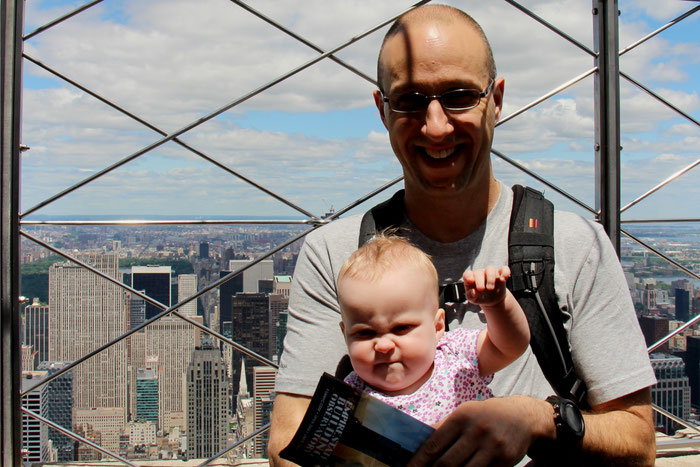 Empire State Building Observation Deck - Travel NYC With a Baby