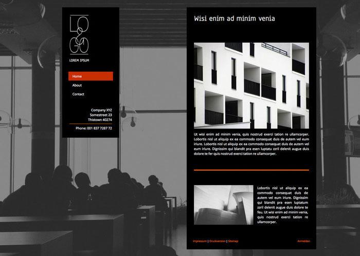шаблона для сайта Lima