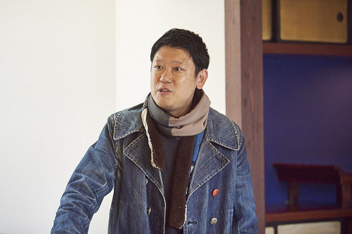 山本太郎先生は現代美術と日本画をつなぐ「ニッポン画」のアーティストとして、日本中で作品の展示を行う。