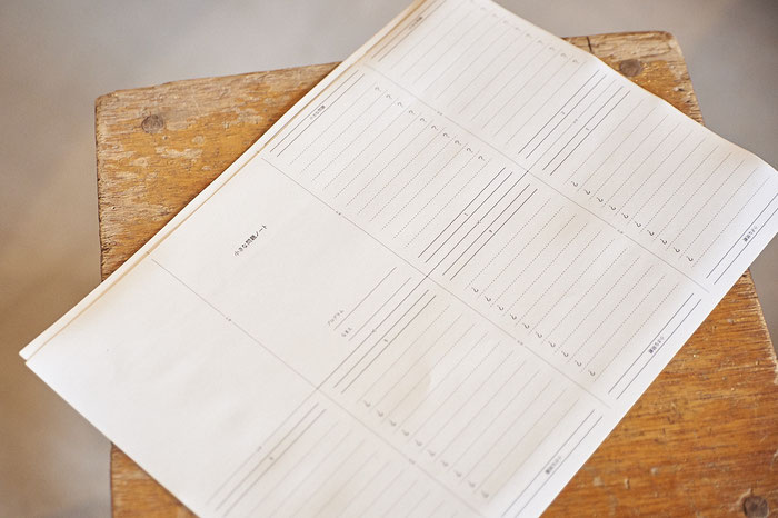 このノートに発見した「小さな問題」を書く。