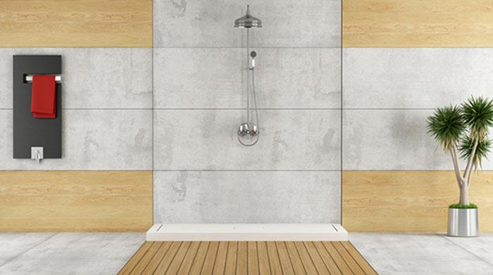 Dusche individuell mit Colour und HiFi