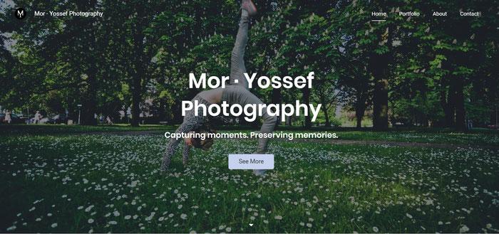 Sito fotografia con Dolphin Mor Yossef