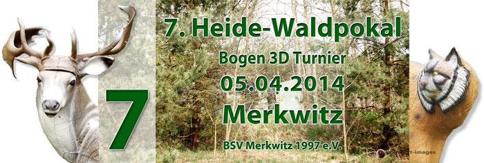 Fotocollage - 7. Heide-Waldpokal 2014 in Merkwitz