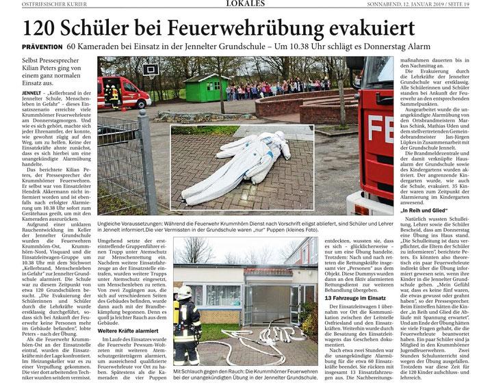 Ostfriesischer Kurier 12.01.2019