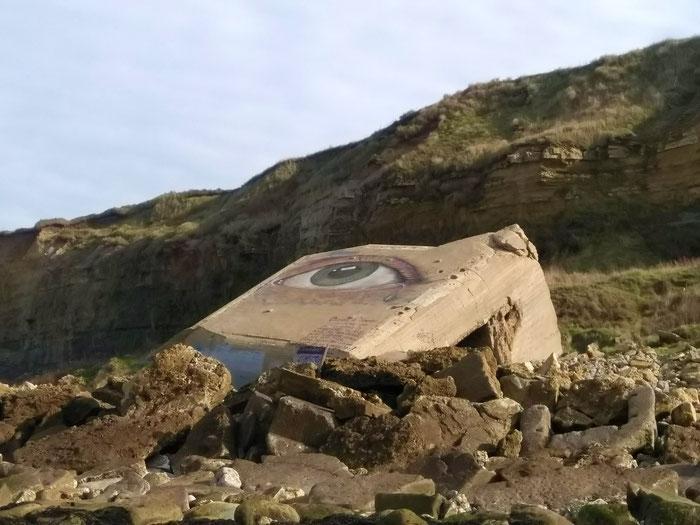 Bunkerruine bei Wimereux