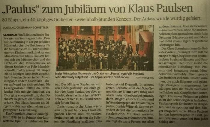 Rheinische Post 27.11.2019
