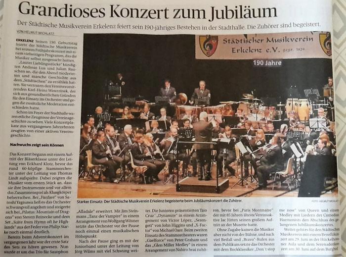 Aachener Zeitung 24.5.2019 - zum Vergrößern einfach anklicken