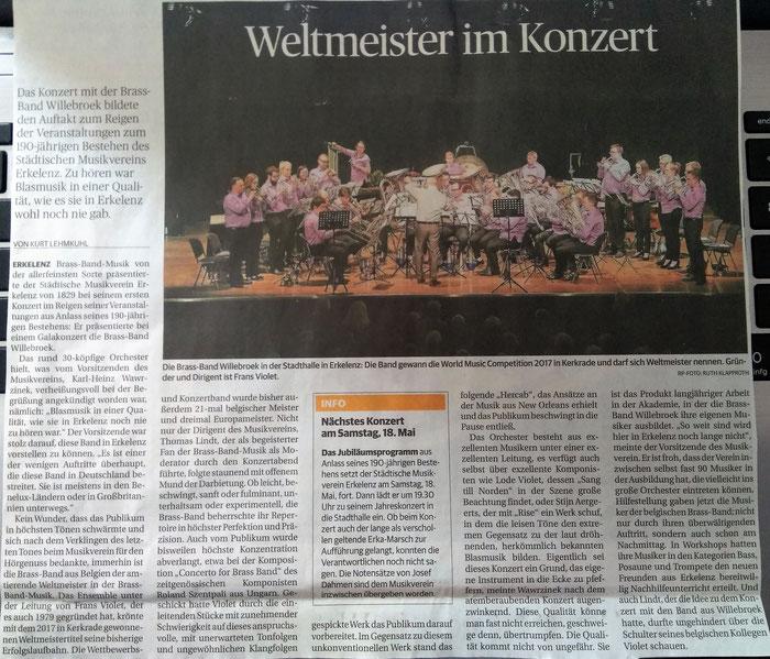26.03.2019 - Rheinische Post