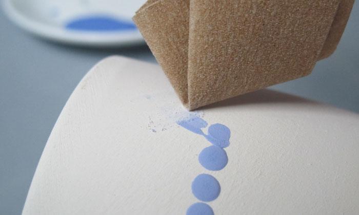 Erste Hilfe beim Bemalen von Keramik