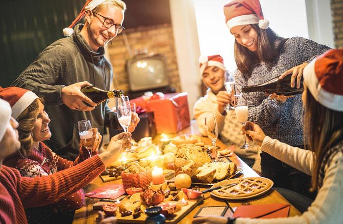 Menschen Christmas Weihnachtsfest