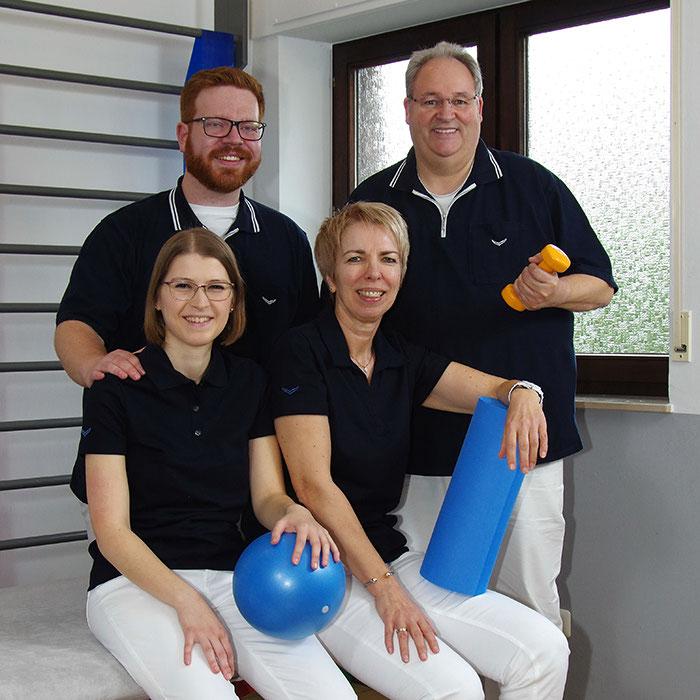 Team der Physiotherapiepraxis Schoenen in Langerwehe-Schlich