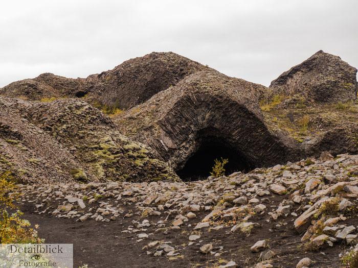 Kirkjanhöhle am Hljodaklettar
