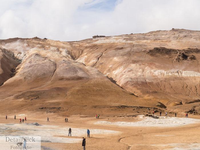 Hochtemperaturgebiet am Namafjall