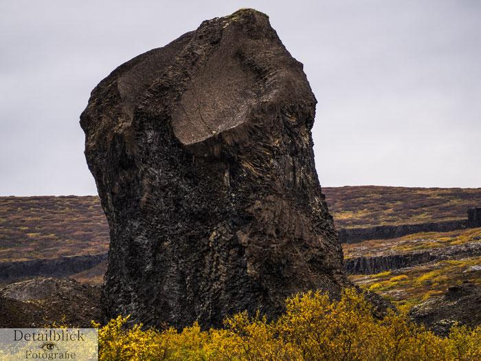 Basaltformation - Hljodaklettar
