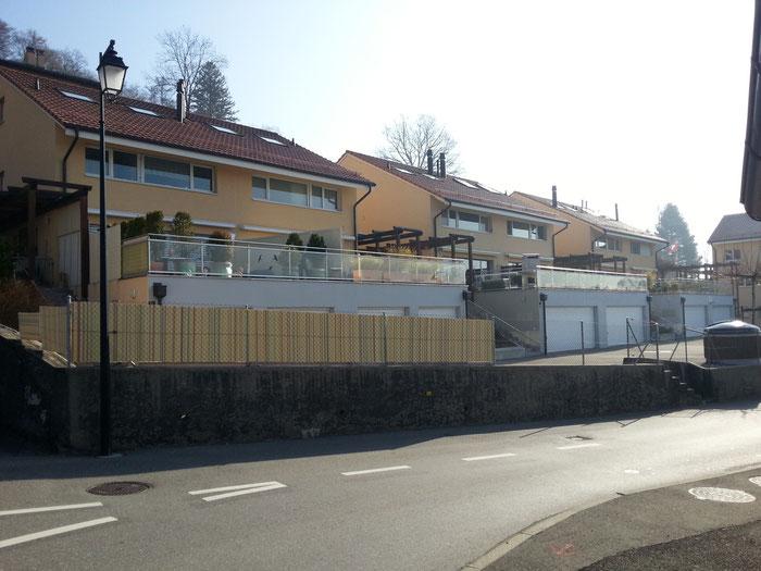 Nouvelle construction de 8 villas jumelles - St-Légier