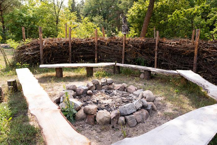 Unser Feuerplatz- der Ort für dein erstes Feuer ohne Streichhölzer