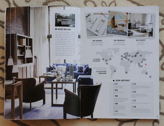 フランス家具 白家具 カタログ カントリーコナー CountryConer