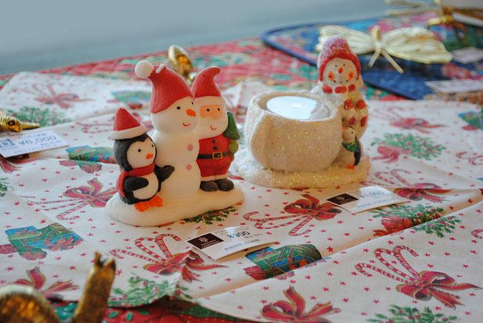 北欧雑貨 ブロステコペンハーゲン BROSTECOPENHAGEN スノーマン グリッタースノーマン キャンドルホルダー クリスマスキャンドル クリスマス雑貨 インテリア雑貨 テーブルセンター ナプキン ランチョンマット