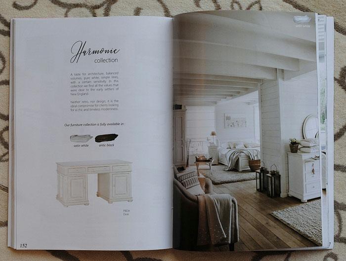 フランス家具 白家具 カタログ カントリーコナー CountryConer ハーモニー HERMONIE