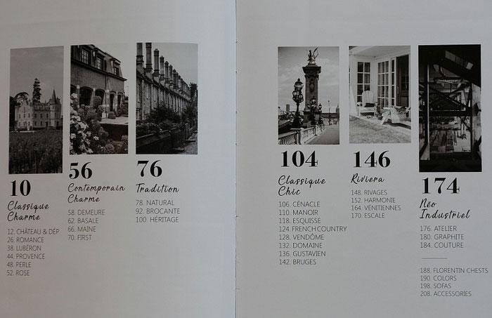 フランス家具 白家具 ブランド カタログ カントリーコナー CountryConer