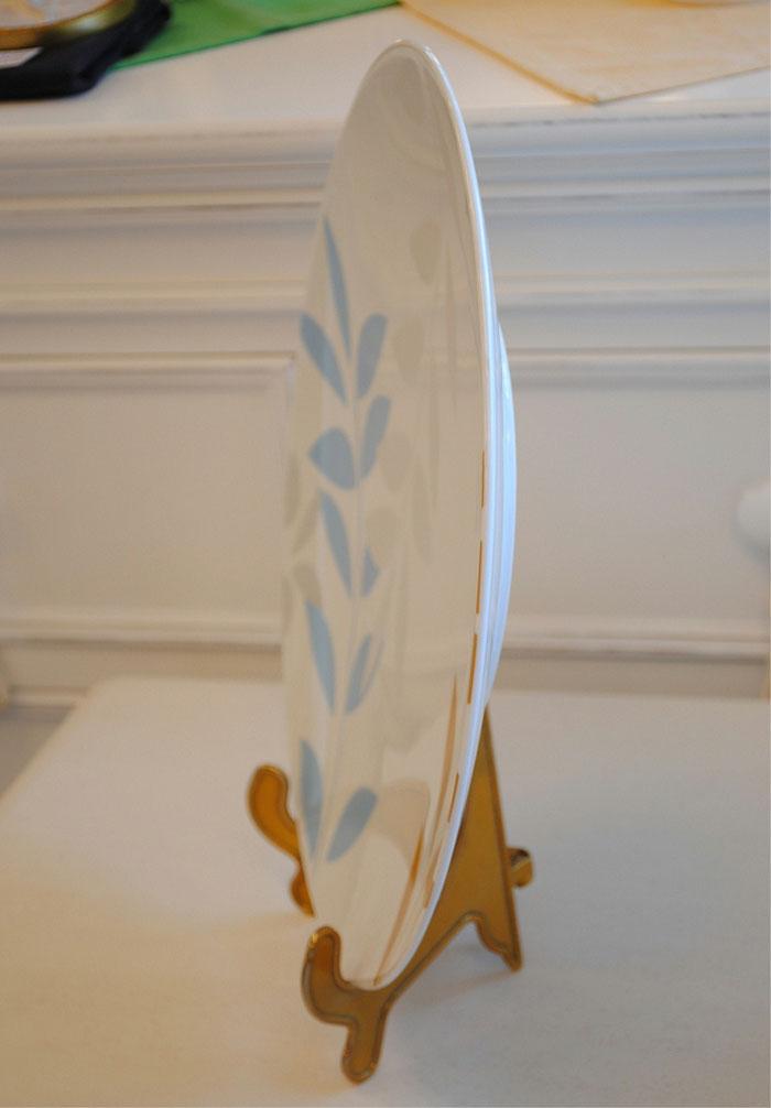 スタイルフランス フランス食器 磁器 ポーセレーヌ 大皿 11寸大皿 プレート プレゼンテーションプレート