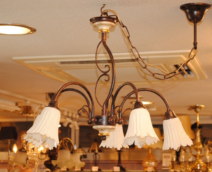 シャンデリア 照明 おしゃれ イタリア製 カパーニ 古木 ランプ 照明器具 クラシック エレガント ゴージャス CAPANNI