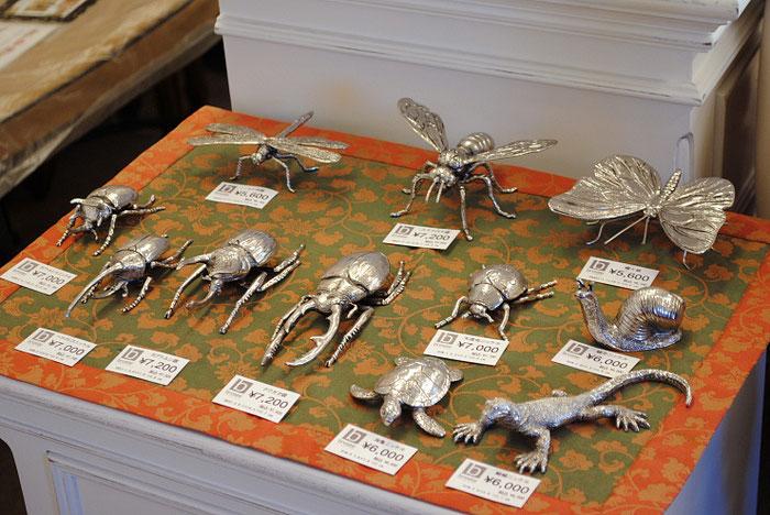 北欧雑貨 インテリア雑貨 バグ 昆虫 オブジェ 銀 シルバー 雑貨 BrosteCopenhargenn ブロステコペンハーゲン デンマーク