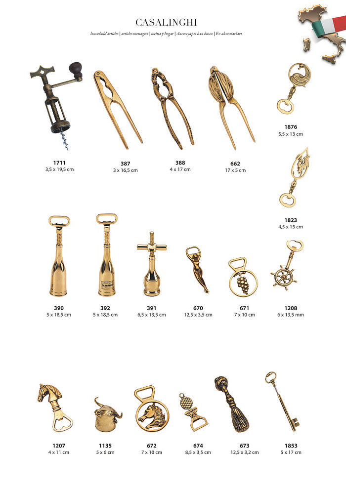 カタログ 真鍮 輸入雑貨 イタリア製 Stilars スティラーズ