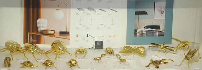 北欧雑貨 インテリア雑貨 バグ 昆虫 オブジェ 真鍮 雑貨 BrosteCopenhargenn ブロステコペンハーゲン デンマーク