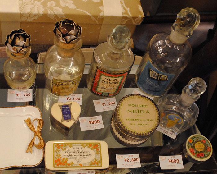 フランス 雑貨 アンティーク 香水瓶 ボトル