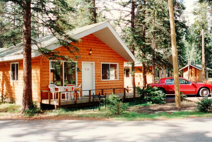 Gemütliche Unterkunft in Jasper, in Nachbarschaft zu Bären und Elchen.