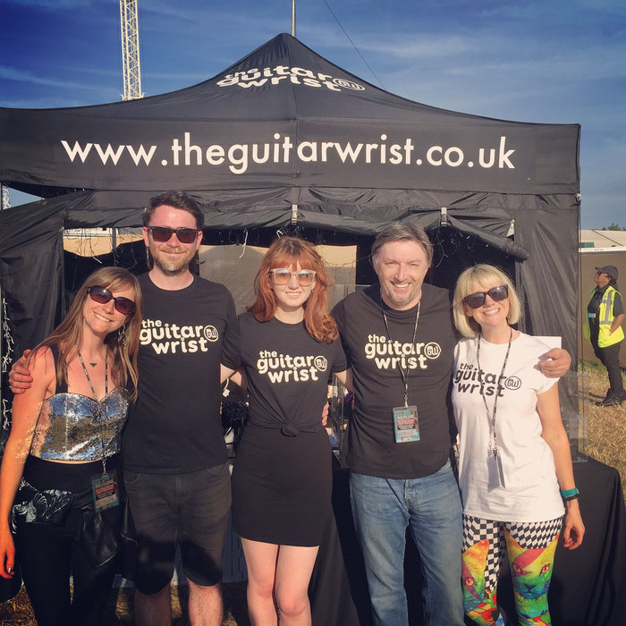 The Guitarwrist Team Download Festival 2018