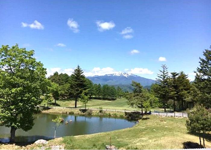 飛騨高山鈴蘭高原御嶽高原高地トレーニング芝生ランニング